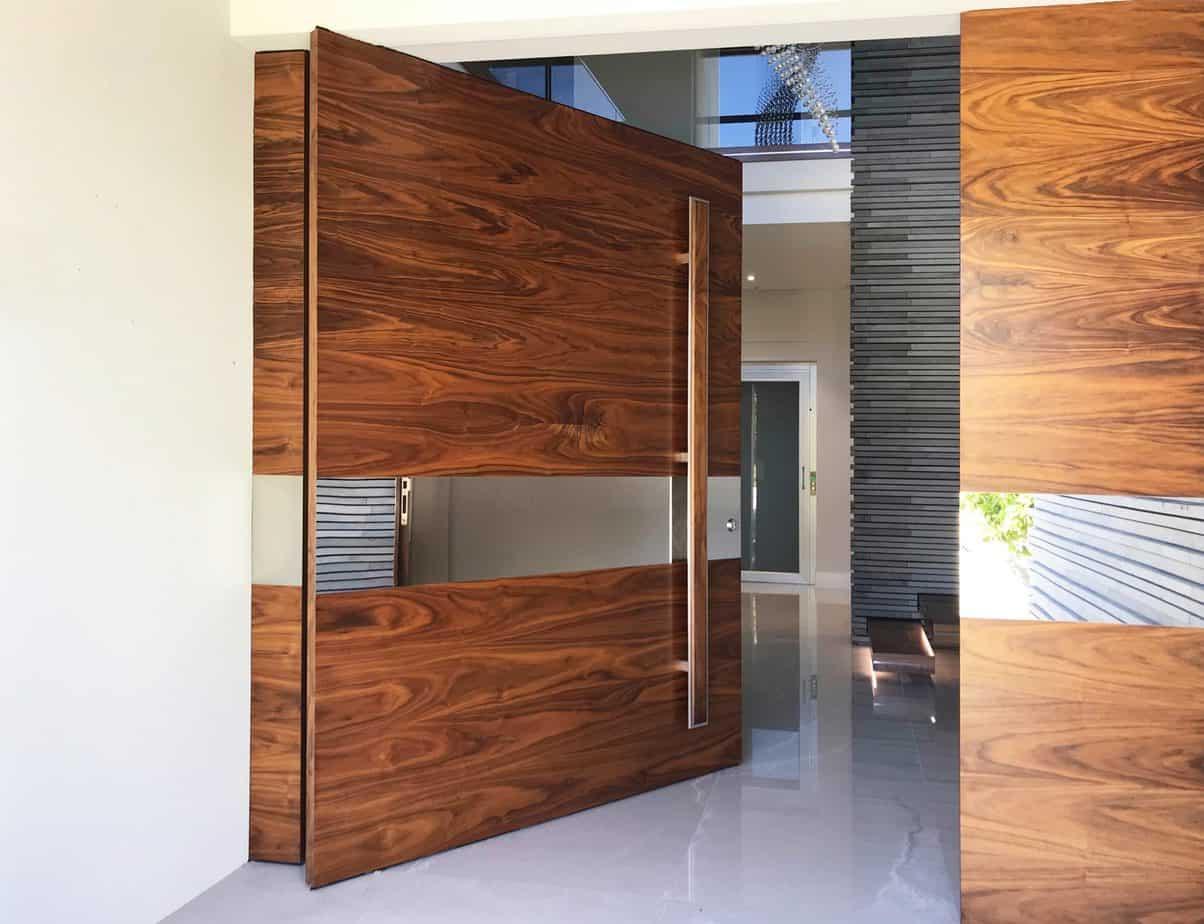 Wide Wood Door Design 2021