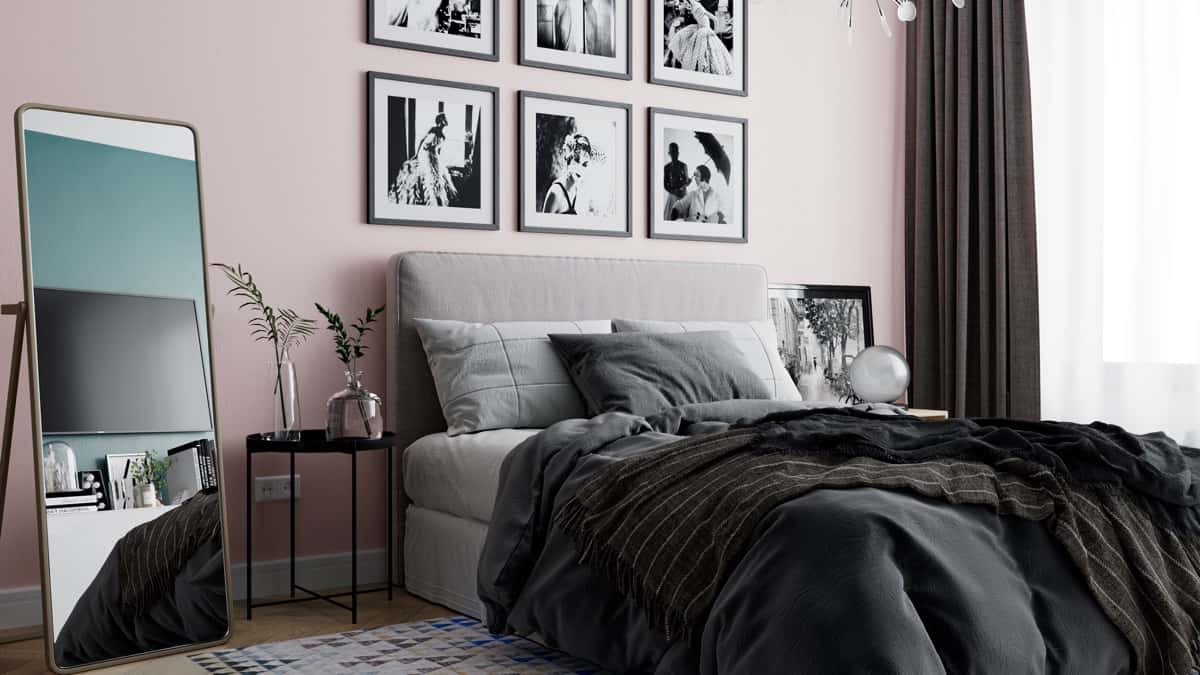 bedroom trends 2021 modern Scandinavian interior