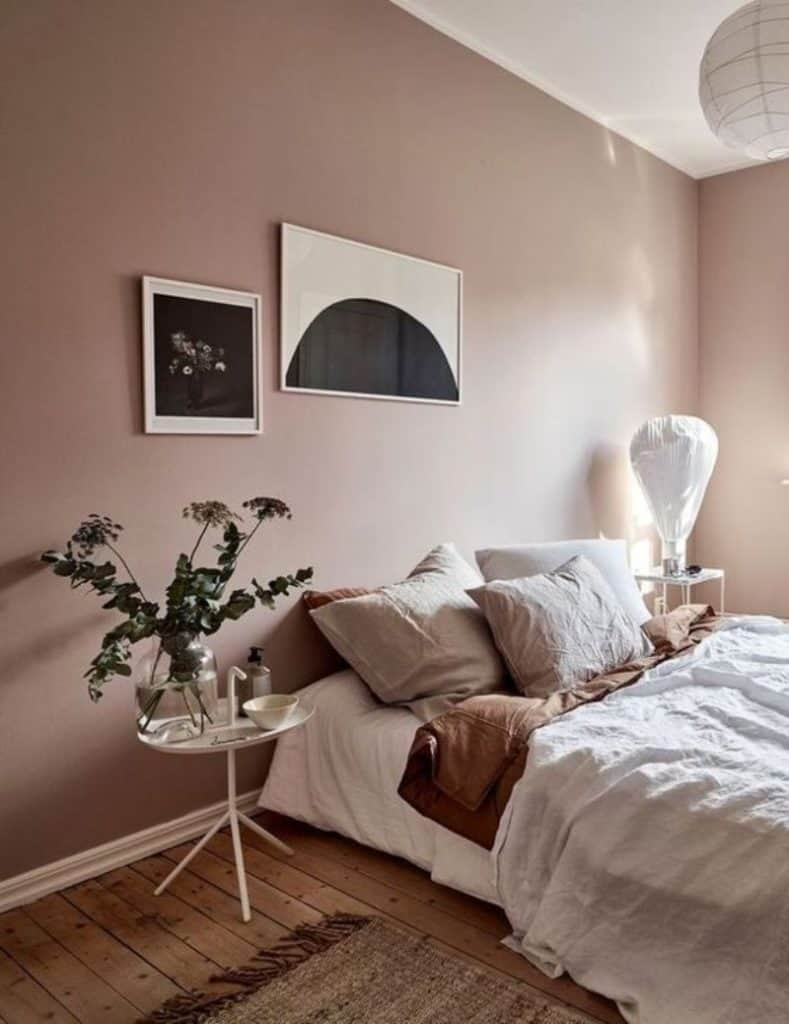 bedroom trends 2021 pastel colors