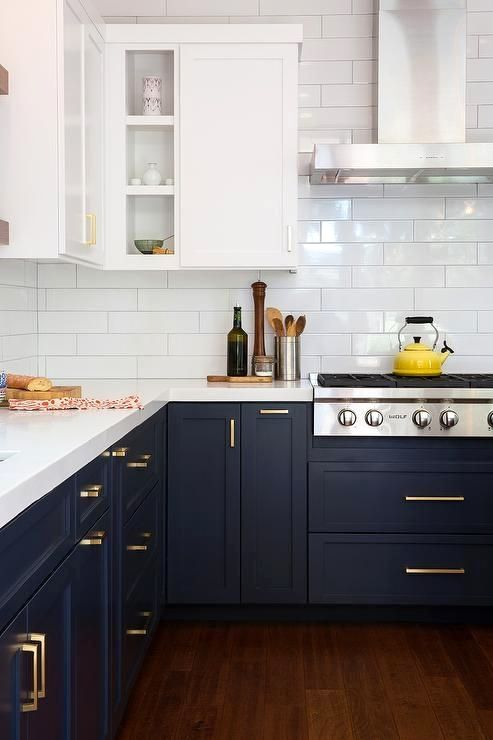 Classic Blue Color Shade for small kitchen 2021