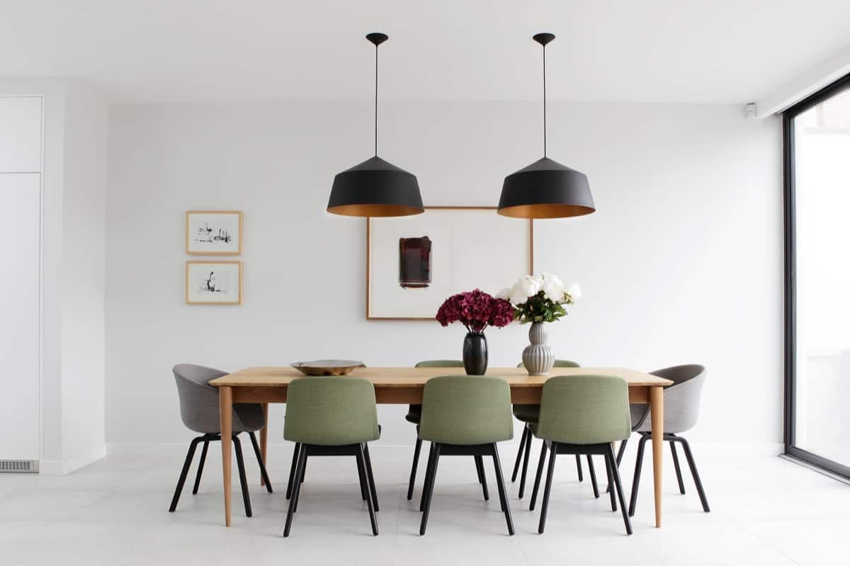 dining room ideas 2021 calming modern minimal interior