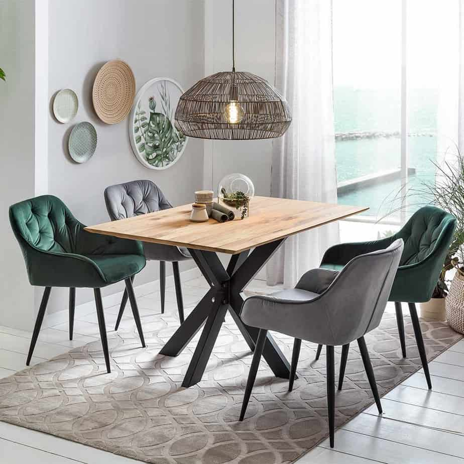 dining room ideas 2021 mixed style interior