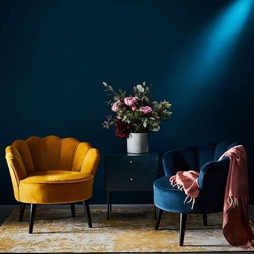 interior design trends 2021 naval color statement furniture