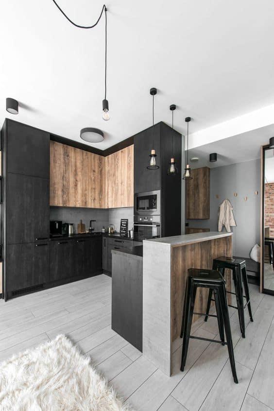 interior designs 2021 industrial chic kitchen