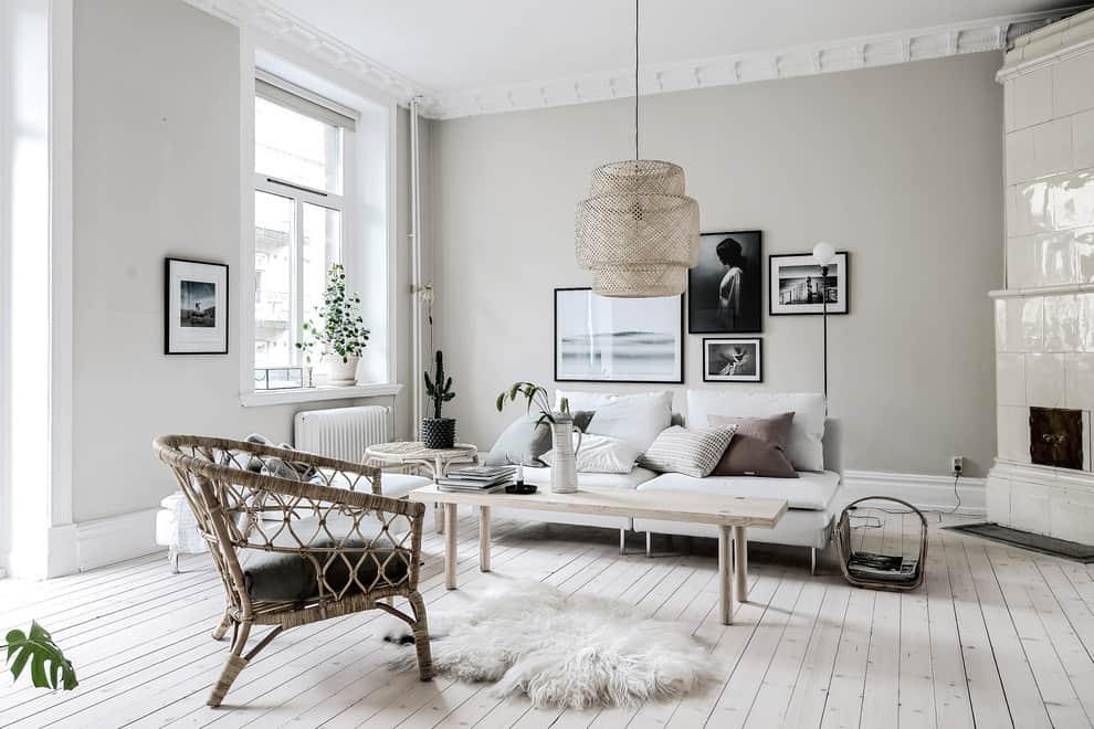 house design 2021 Scandinavian style living room