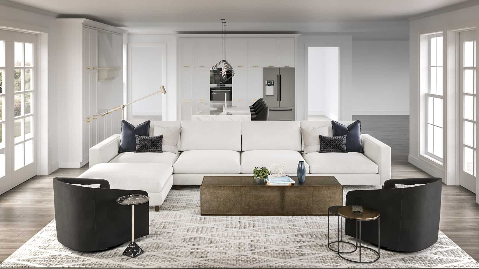 living room trends 2021 minimal chic style