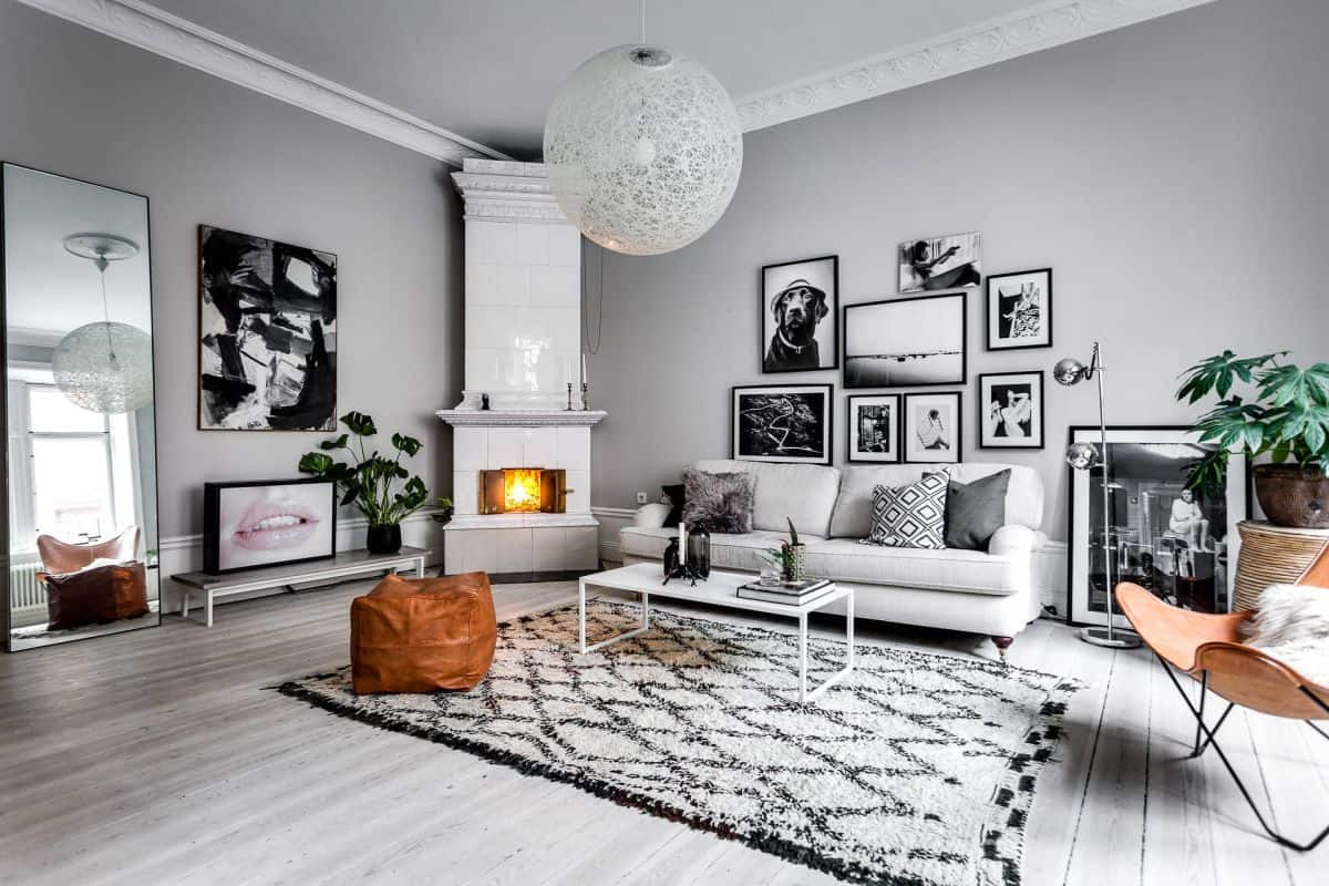 living room trends 2021 Scandinavian inspired look