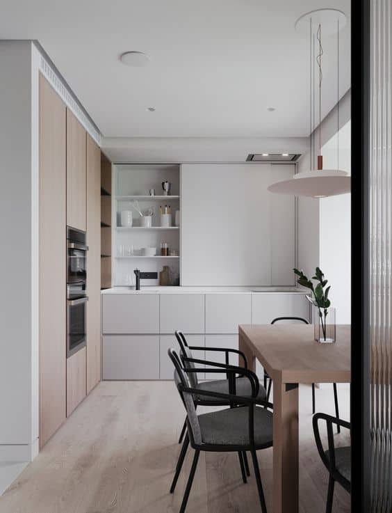 Minial small kitchen design 2021