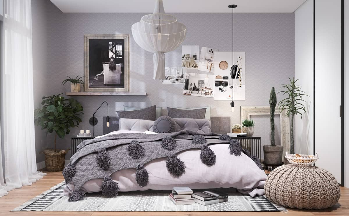 modern bedroom design 2021 hygge decor elements