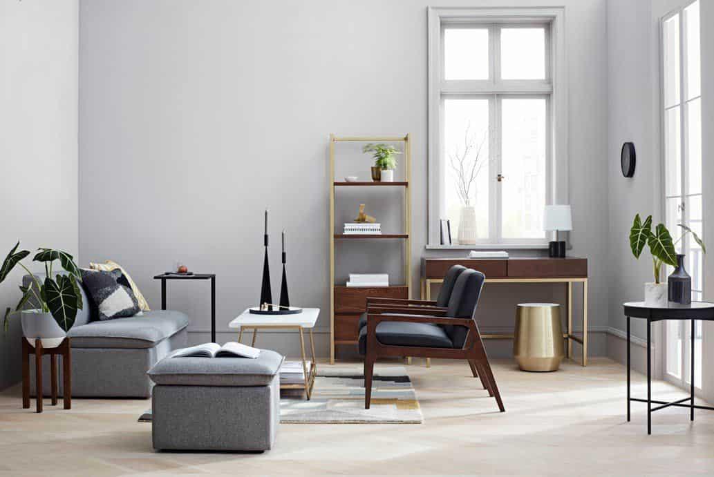 house interior 2021 modern mid century design