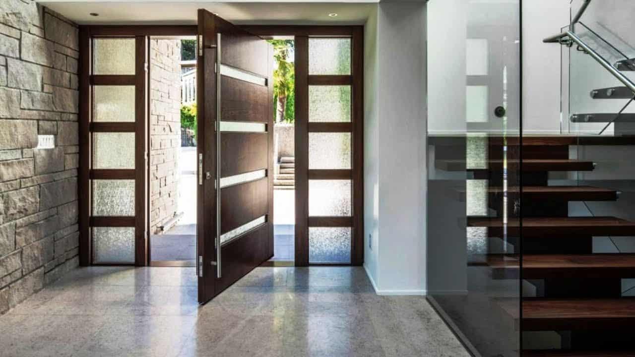 Modern Pivot Door Design 2021