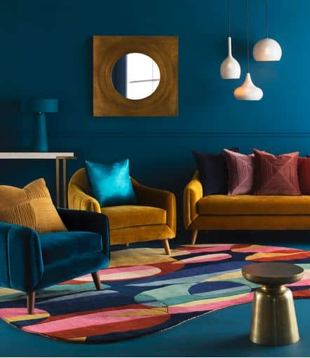 modern retro chic interior design ideas 2021