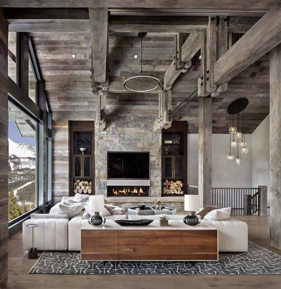 house interior 2021 modern rustic style