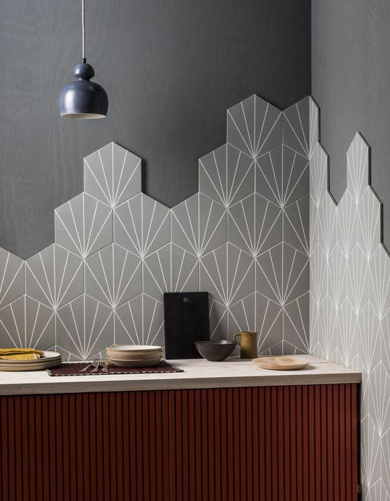 Small Kitchen Ideas 2022: Geometric Ornaments
