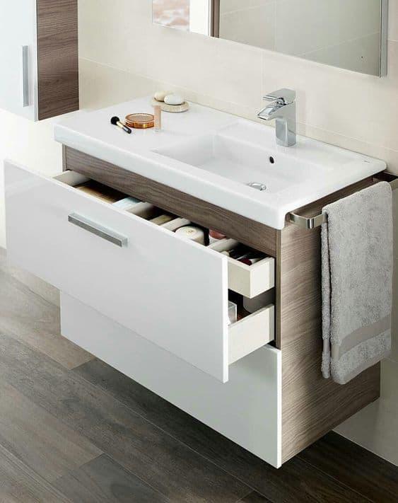 Small Bathroom Trends 2021 Creative Storage
