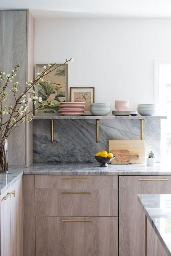 Small Kitchen Ideas 2021 Marble and Quartz