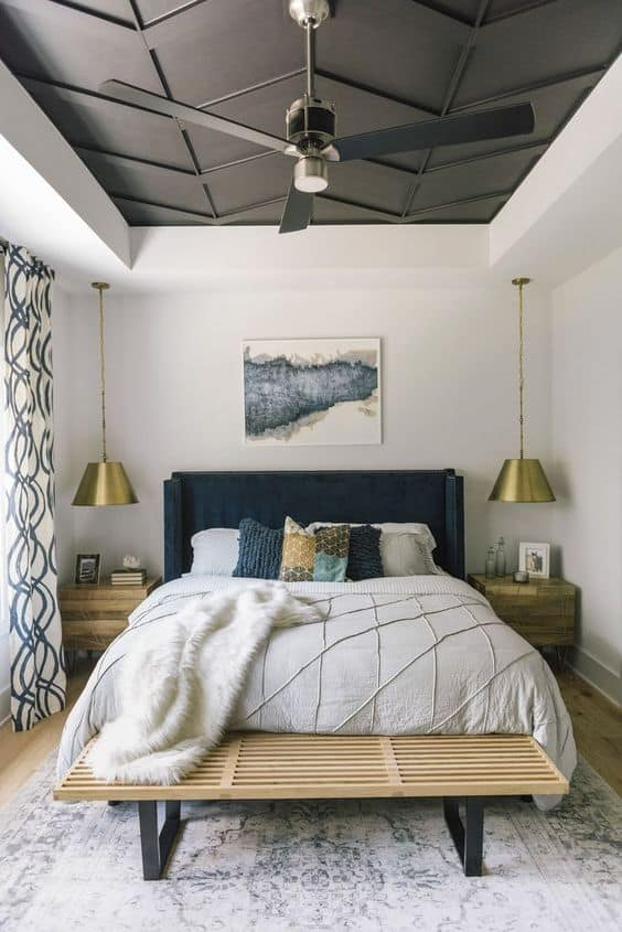 Tray Ceiling Design 2021 Bedroom
