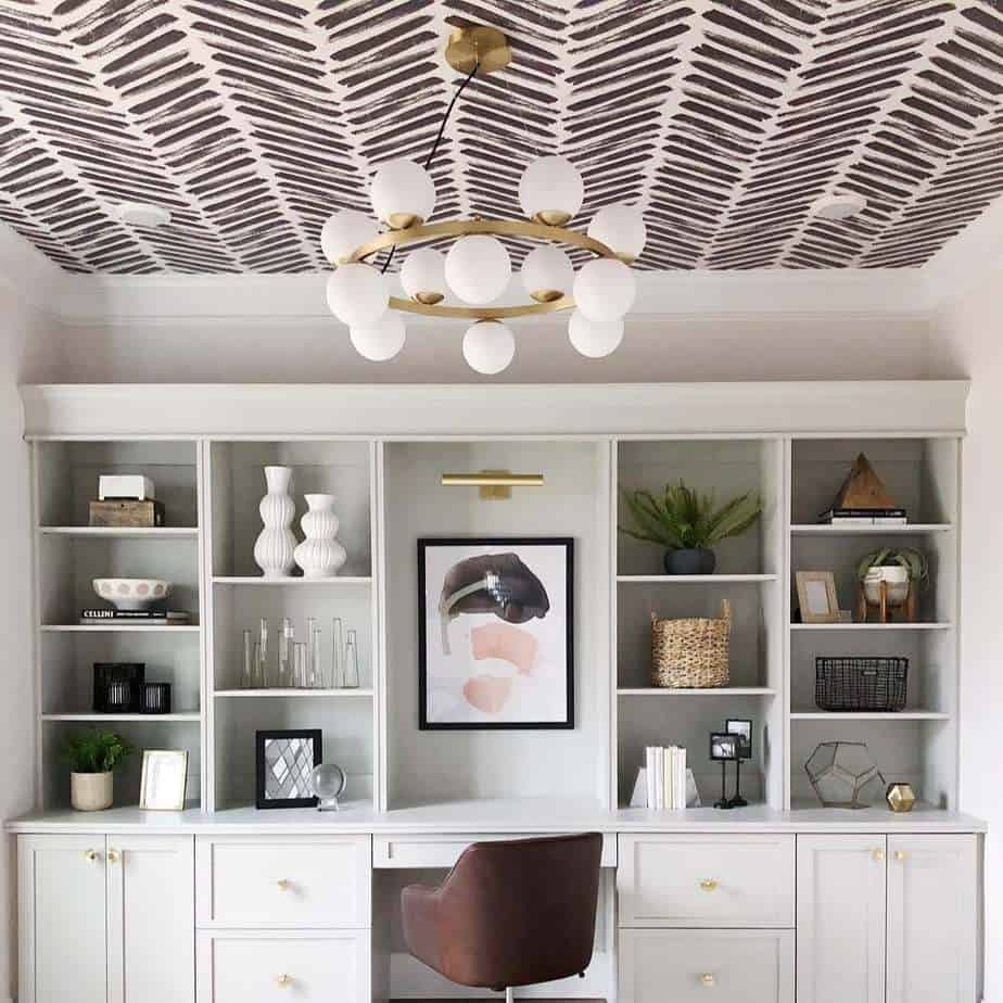Wallpaper on Ceiling Design 2021