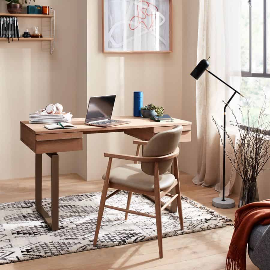 best colors for home office 2021 rusty rose