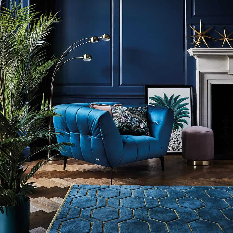 best furniture trends 2021 bold color, materials and styles