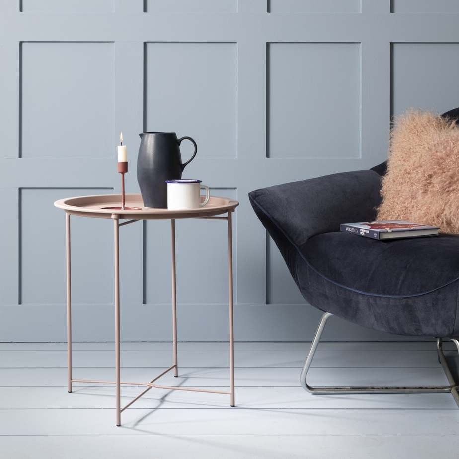 decor and furniture trends 2021 metal side table