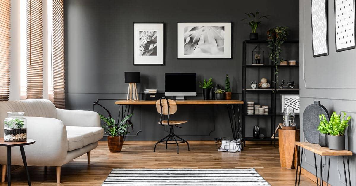 work: Get Home Office Interior Design Trends 2020 Background
