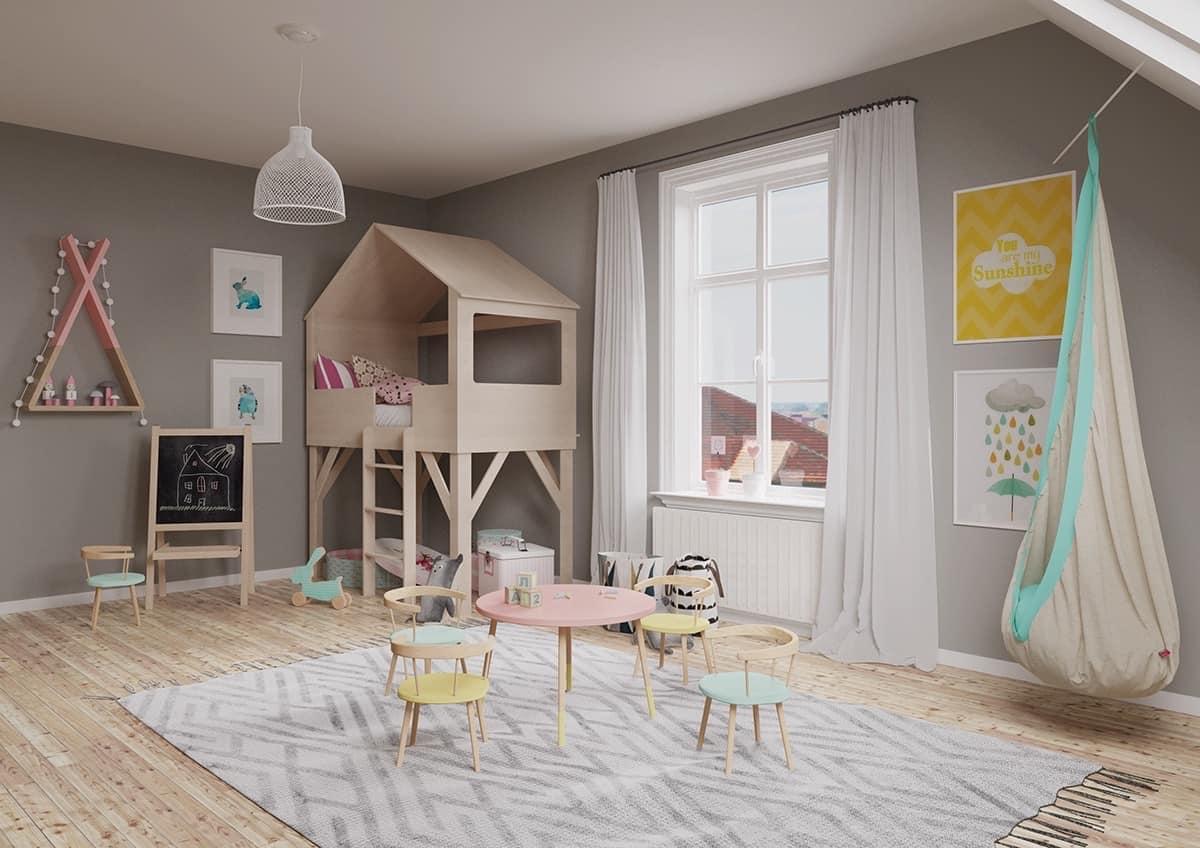kids room 2021 multifunctional space