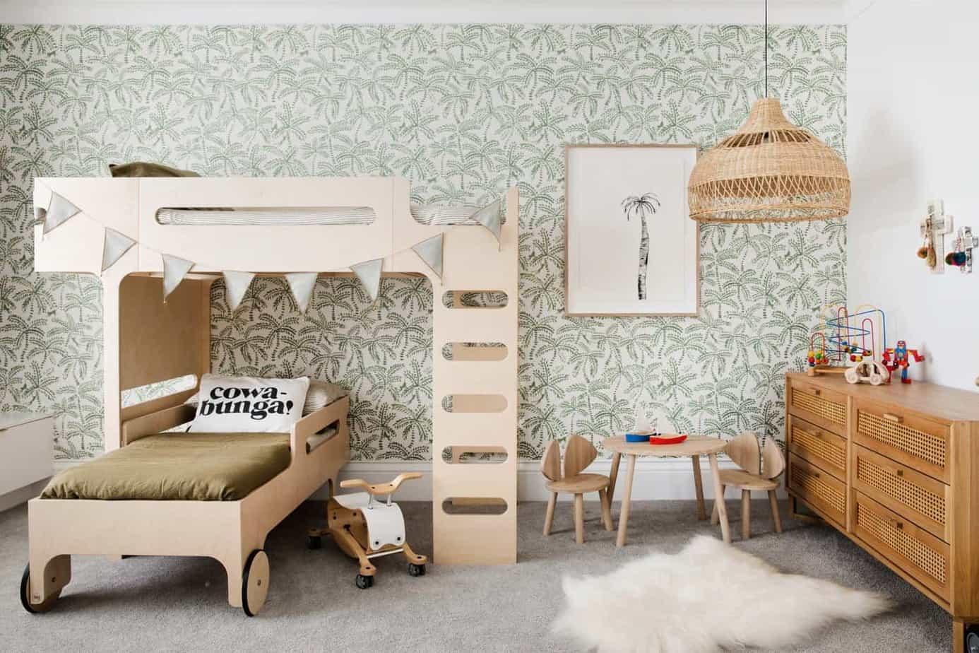 kids room design 2021 eco-friendly furniture