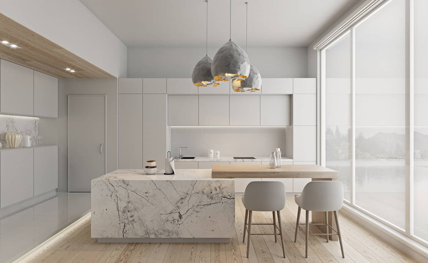 kitchen design 2021 interior in neutral colors