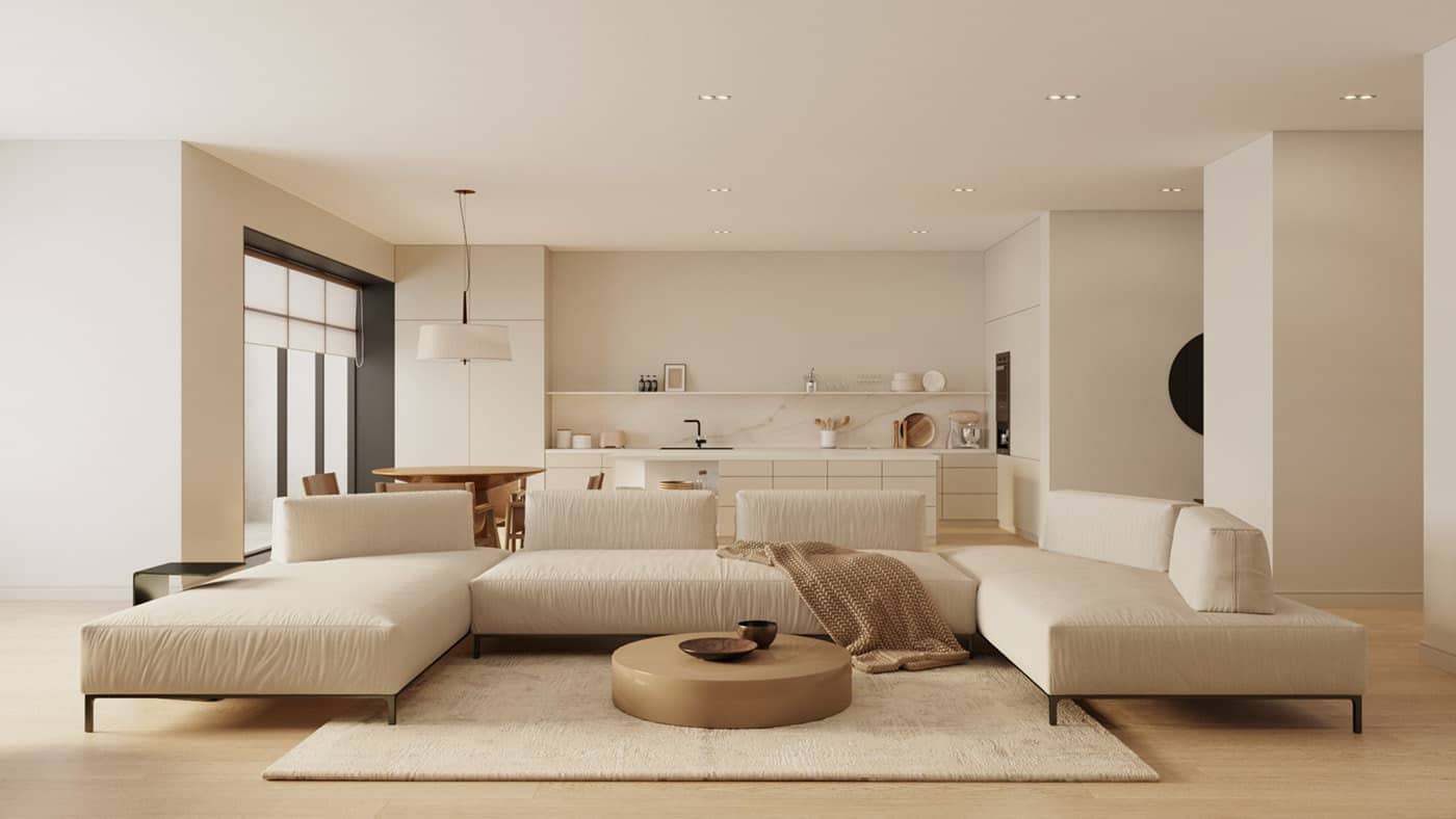 popular living room color trends 2021 neutral interior