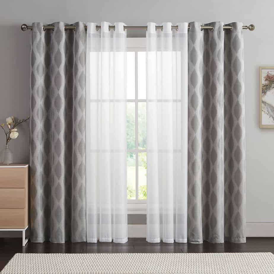 luxurious curtain ideas 2021 abstract pattern and lines