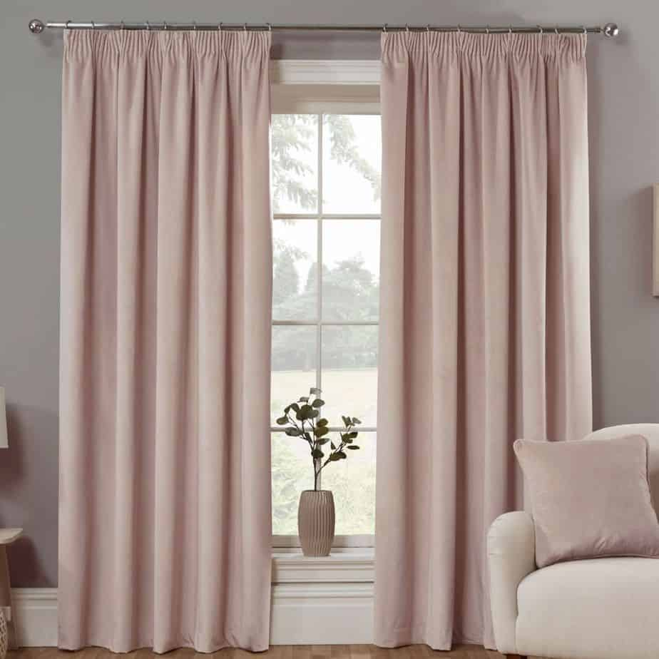 modern curtains 2021 rose gold blackout curtains