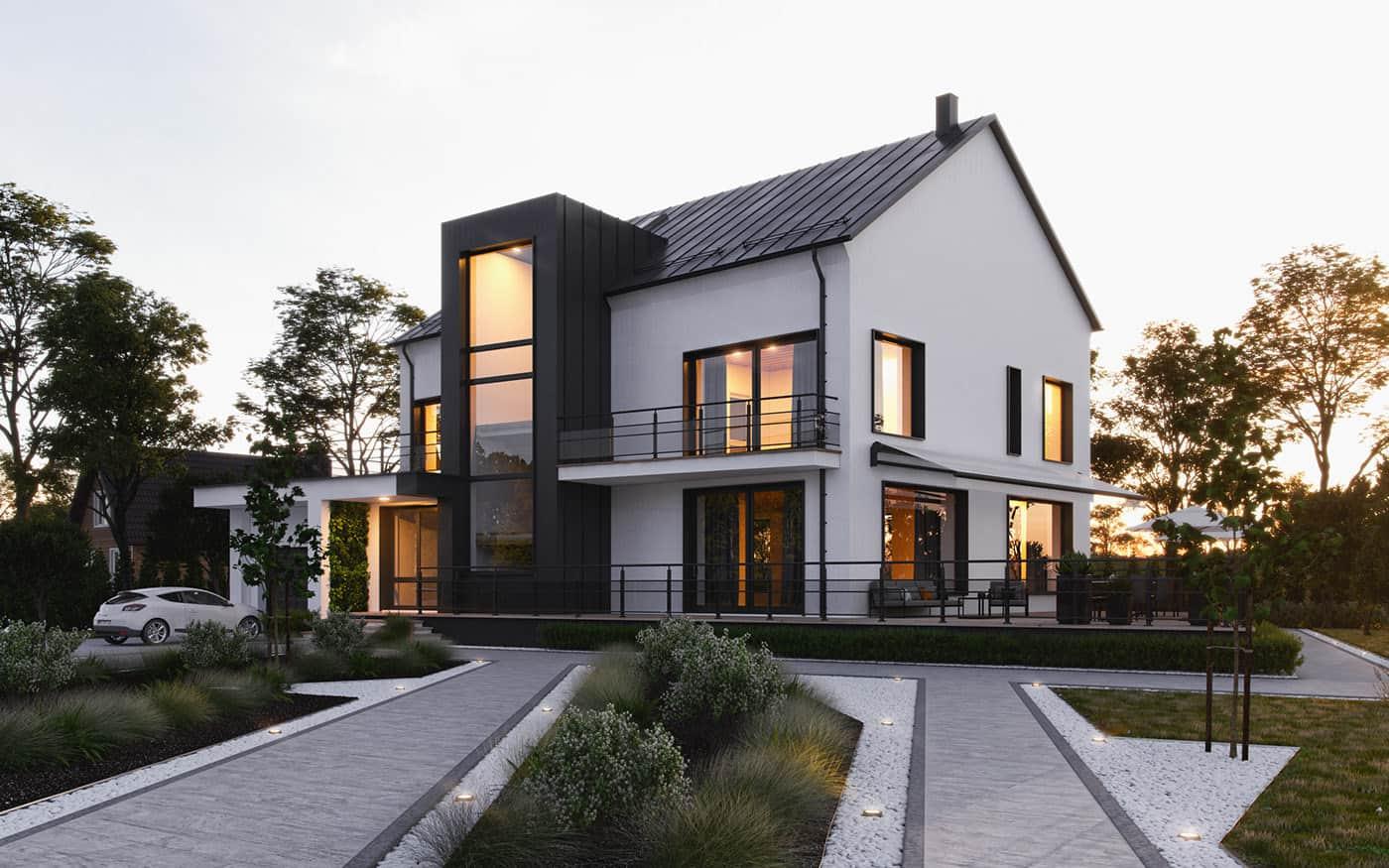modern Exterior Paint Colors 2021 best paint color trends