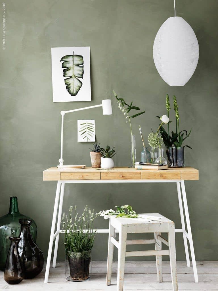 modern interior color trends 2021 sage green