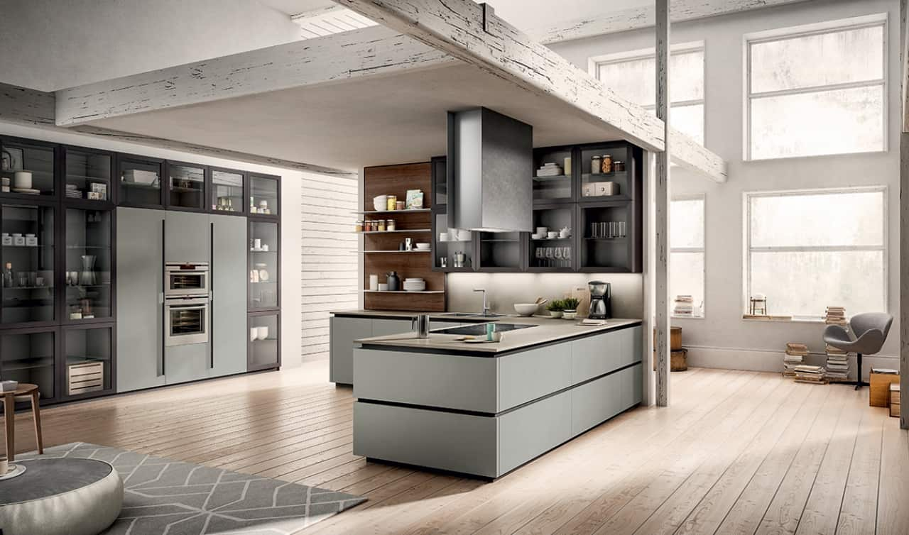 modern kitchen 2021 neutral color interior