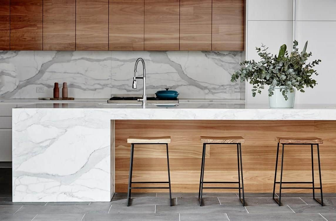 modern kitchen design ideas 2021 mix & match materials