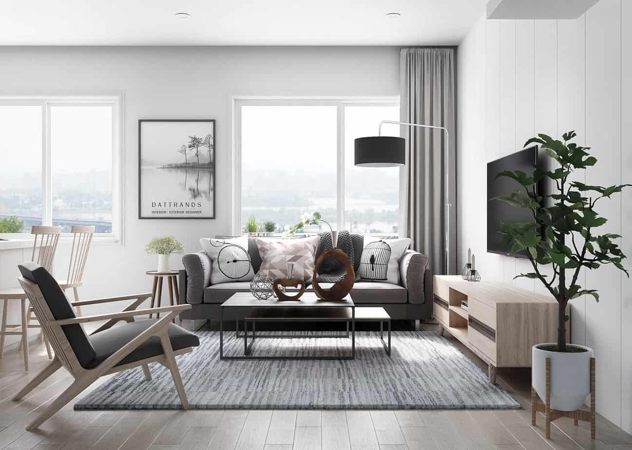 modern Living room design 2021 Scandinavian style furniture
