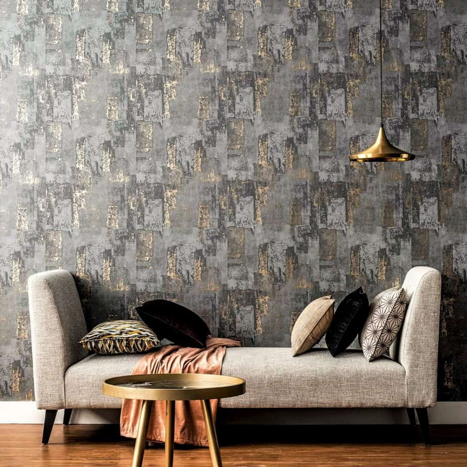 modern wallpaper design grunge pattern interior design