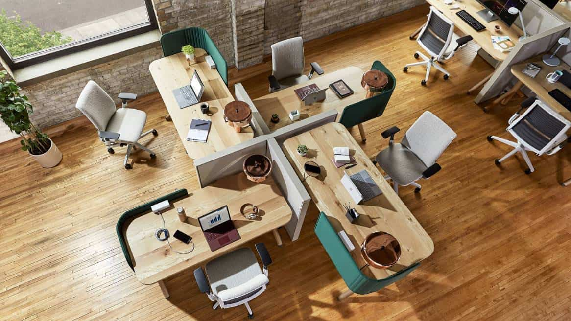 modular office design 2021 movable furniture