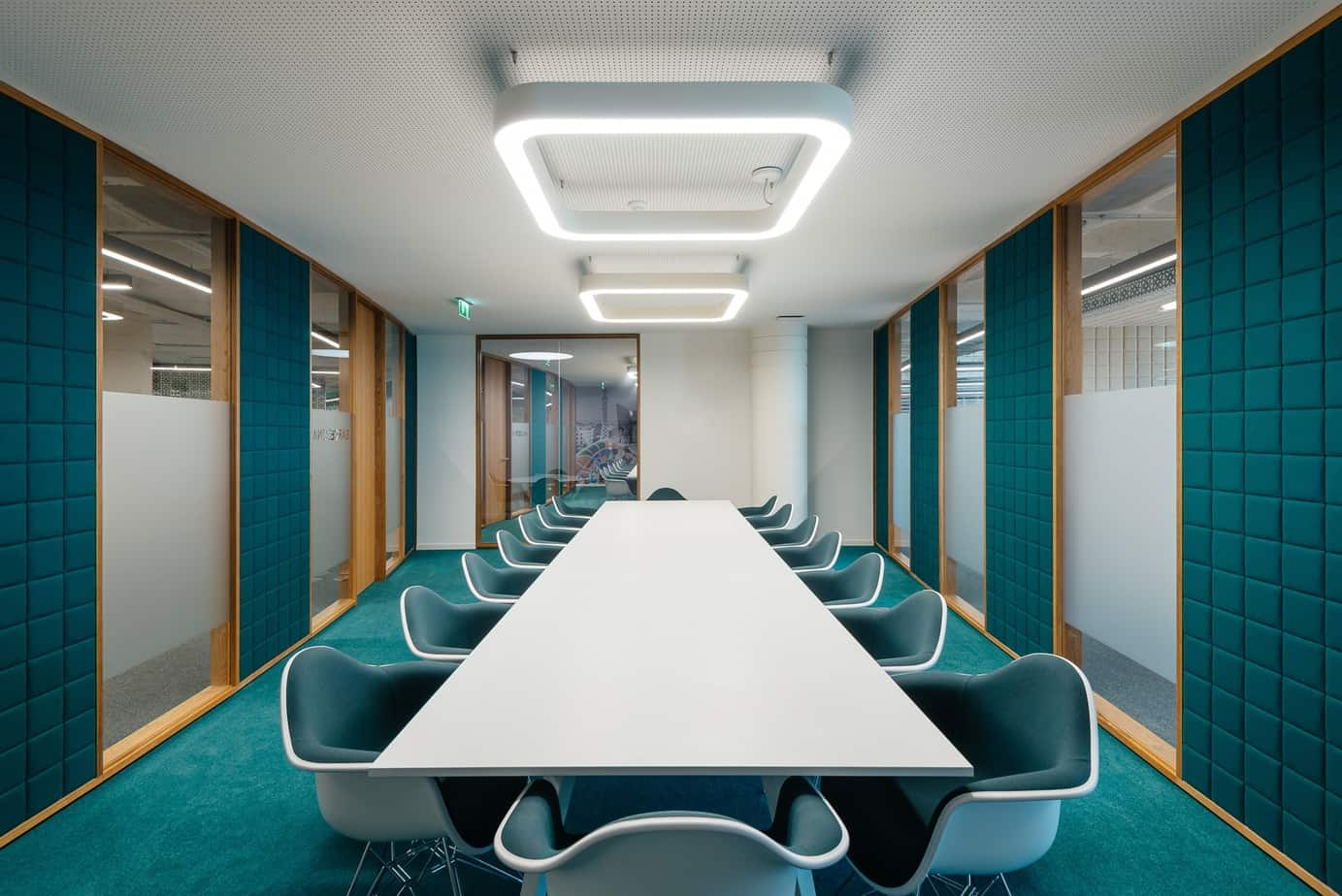 office design color trends 2021 classic blue or aquamarine blue