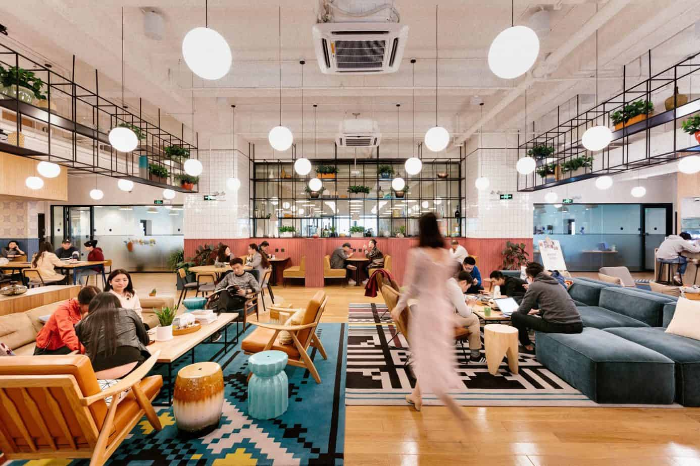 office design ideas 2021 communal space