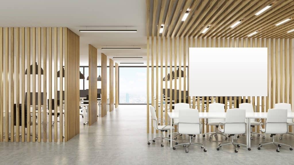 office ideas 2021 sustainable wood interior design
