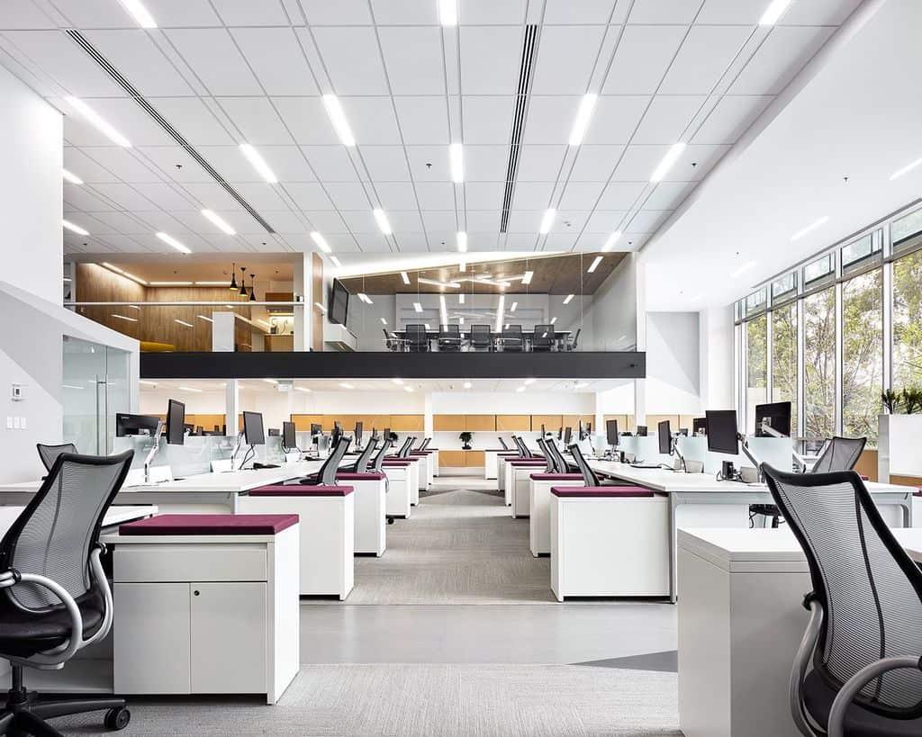 office trends 2021 open floor concept