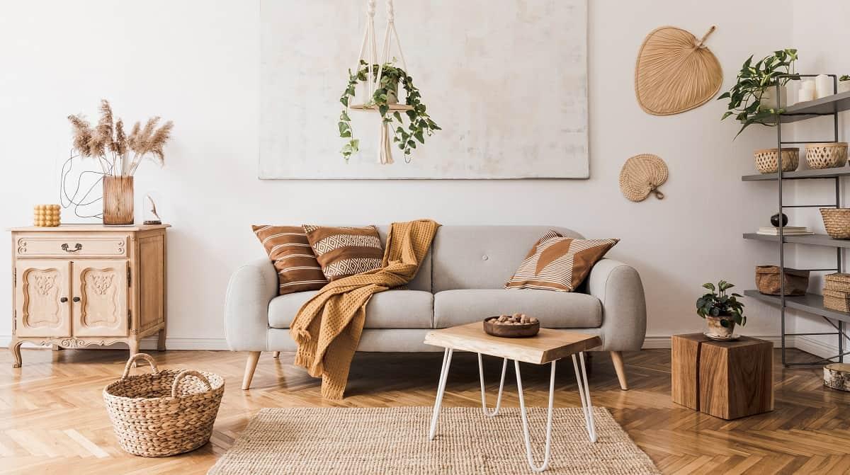 popular home design ideas 2021 boho chic style home decor