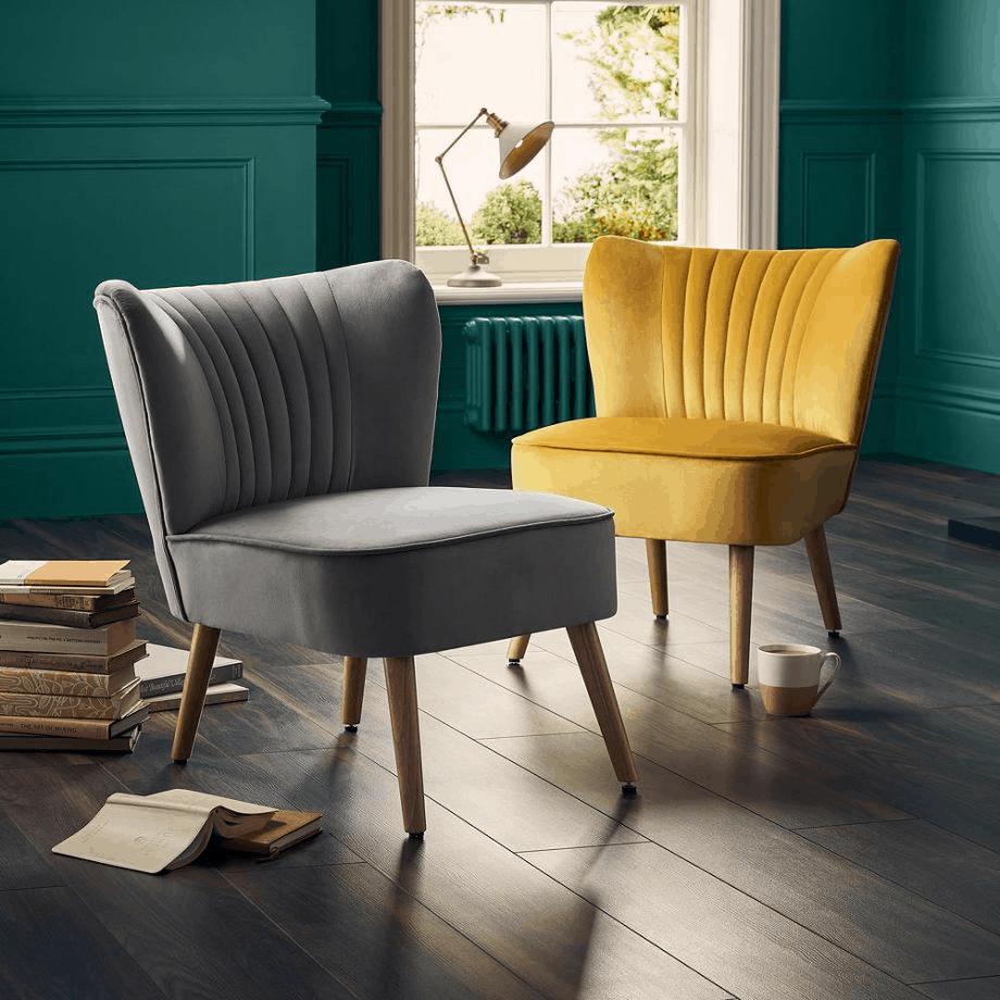 popular living room furniture trends 2021 green velvet armchair