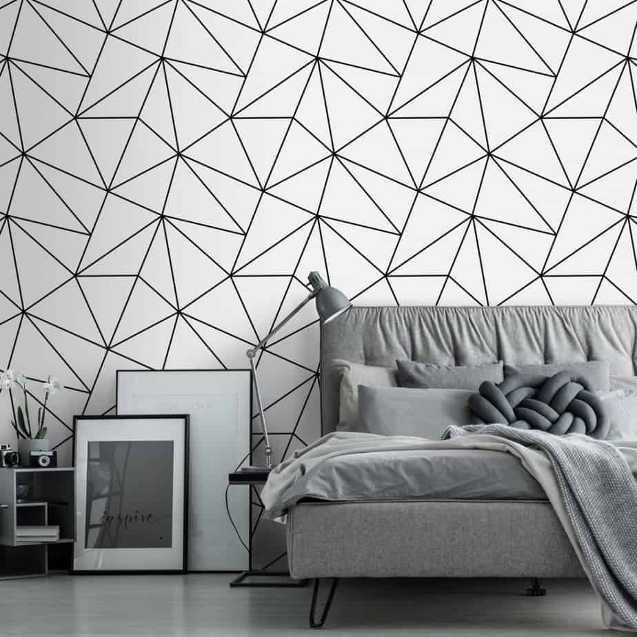popular wallpaper trends 2021 ultra thin geometric patterns