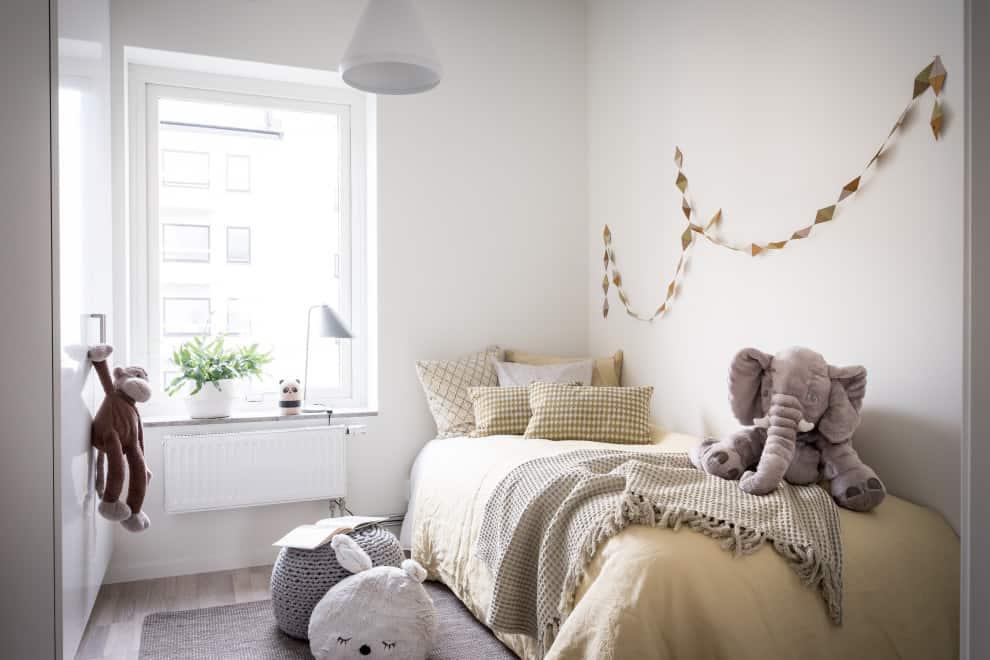 Scandinavian style kids bedroom 2021