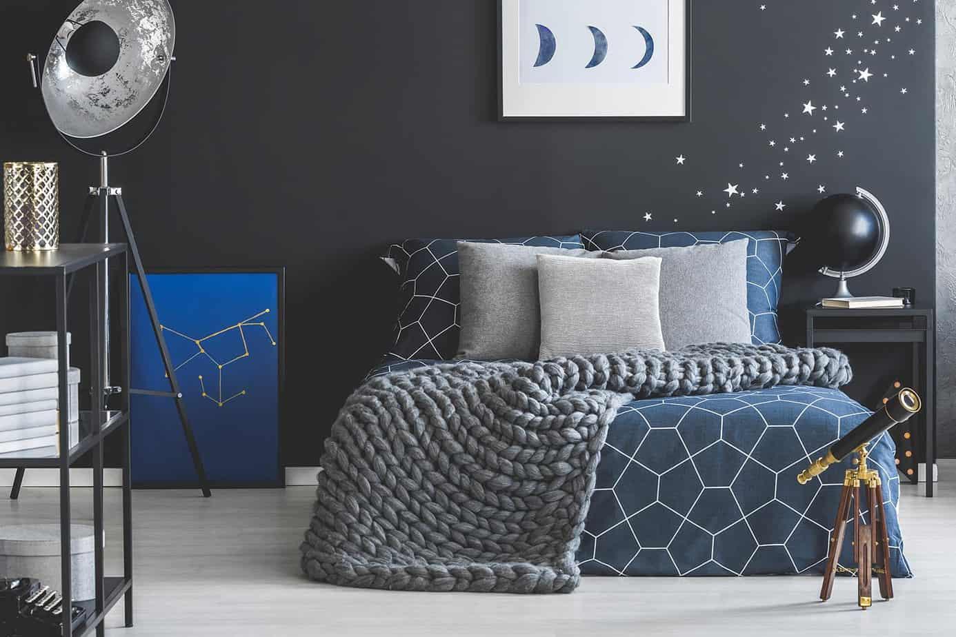 space theme boys bedroom design 2021