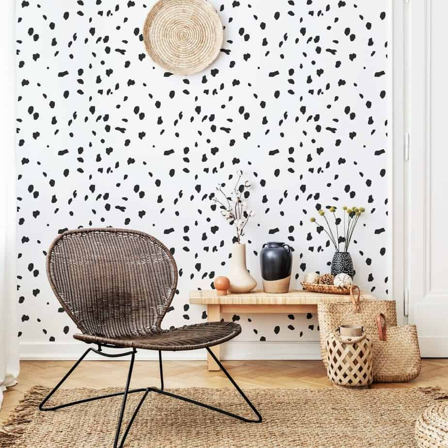 stylish dalmatian wallpaper design 2021
