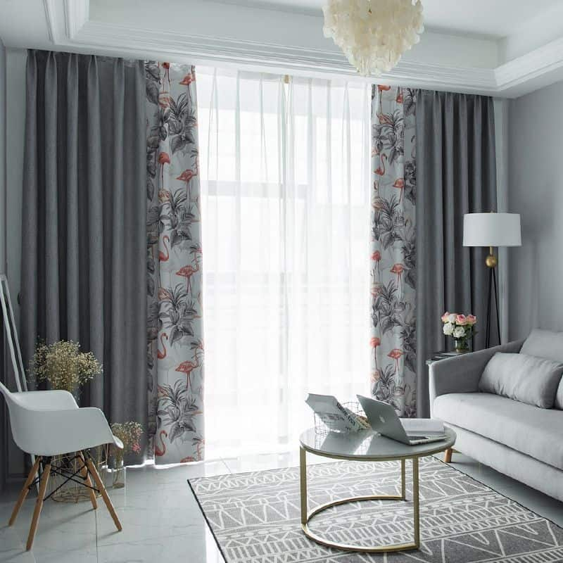 trendy curtain design 2021 layering for modern living room